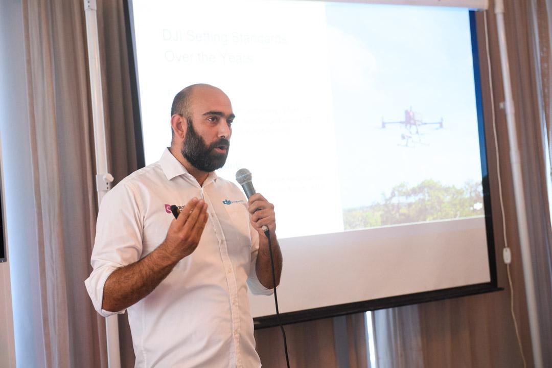 DJI M300 live presentation in Cyprus